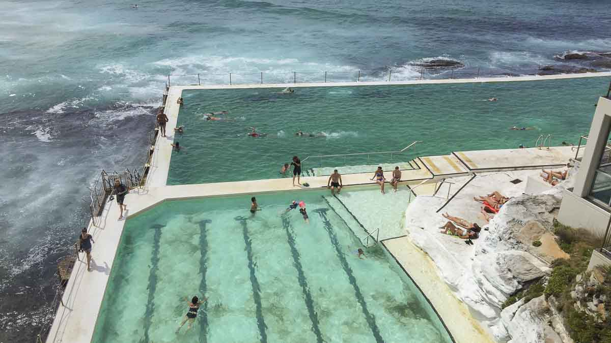 Icebergs Pool at Bondi Beach, Sydney, Australia