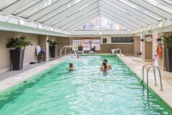 langham hotel indoor pool image