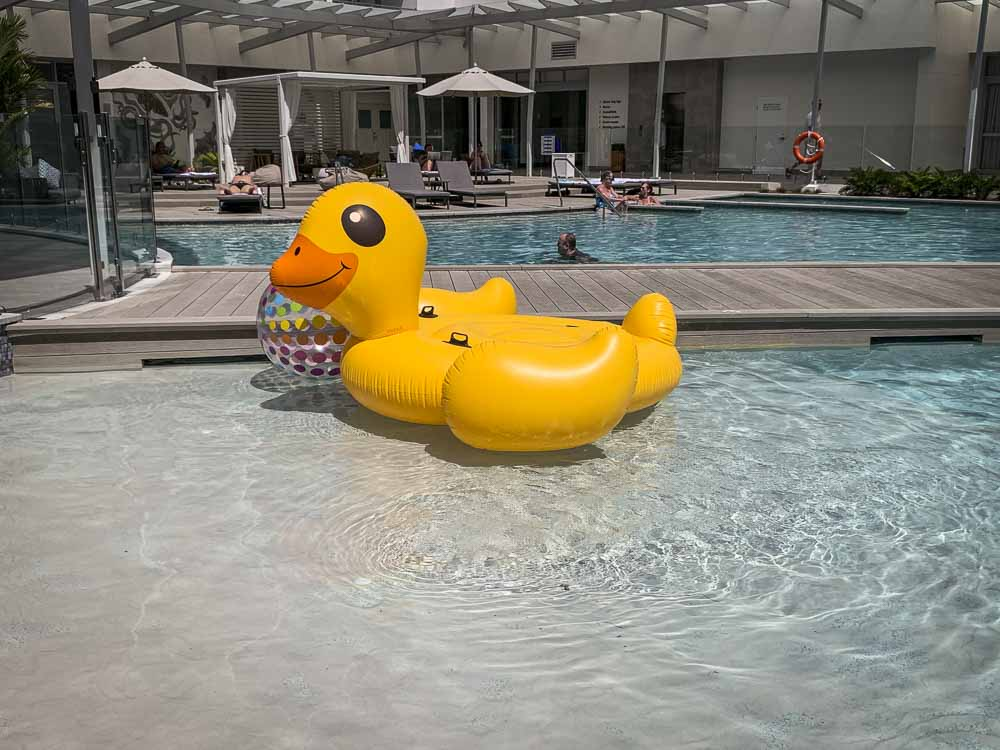 riley crystalbrook best hotel pool in Cairns