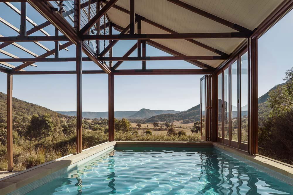 villa pool wolgan vallet