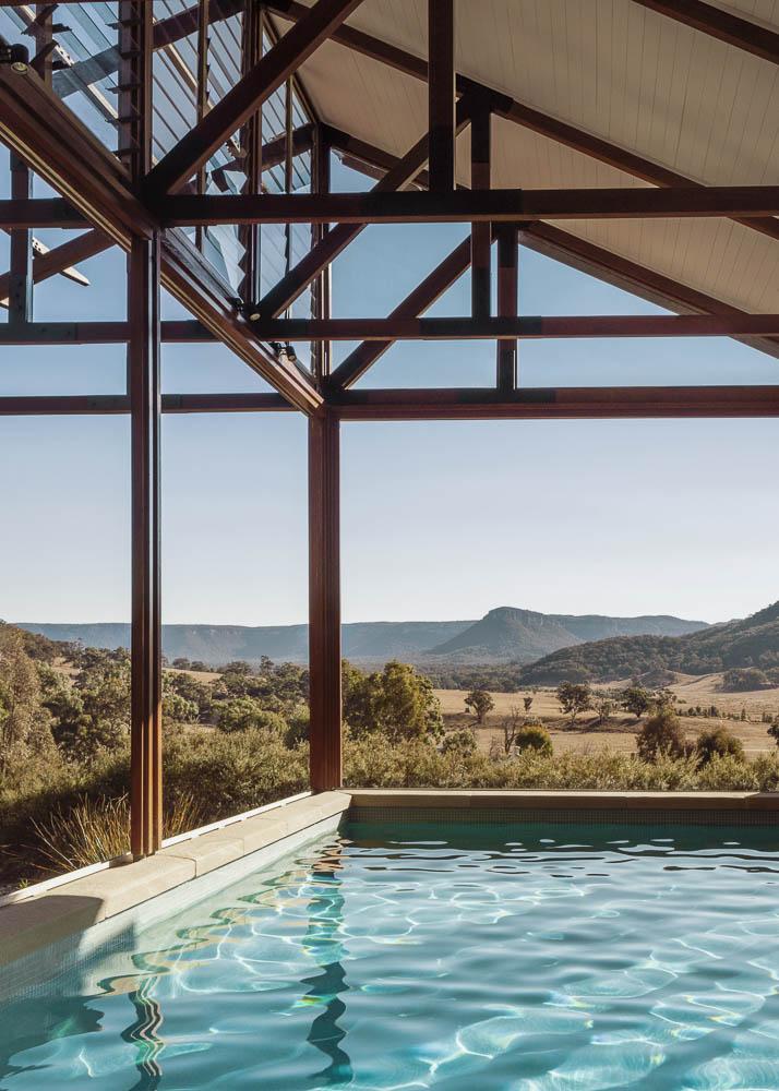 wolgan valley in-room pool