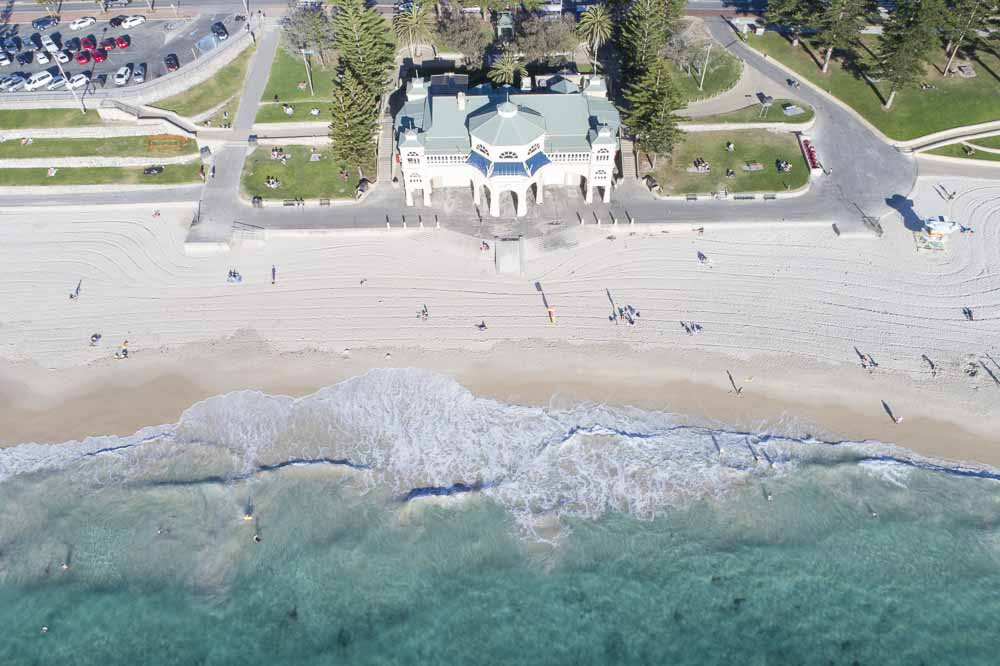 cottesloe beach great swimming in perth