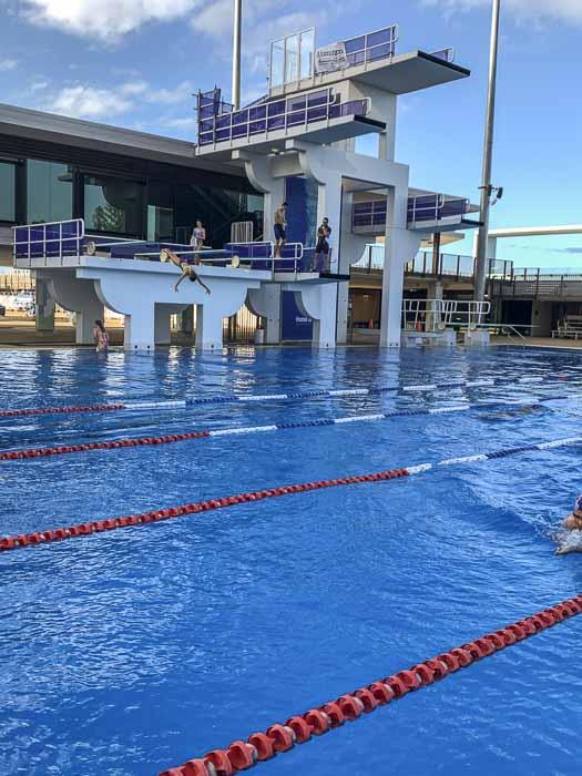 diving pool at gold coast aquatic centre