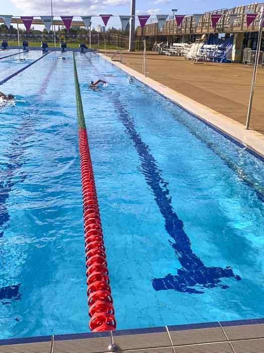 swimmers at gold coast aquatic centre