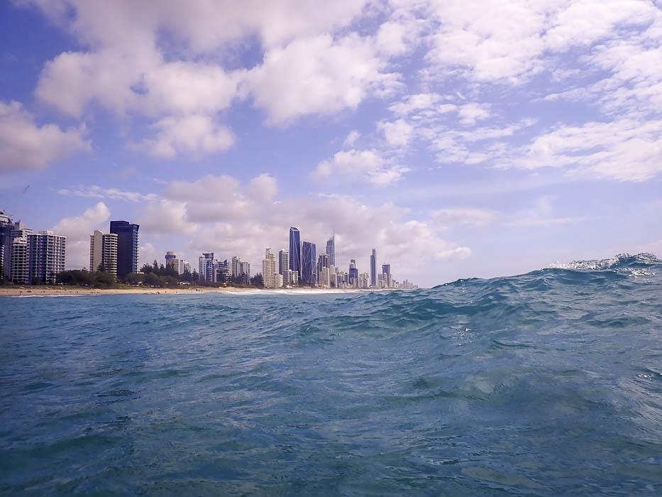 gold coast ocean swimming