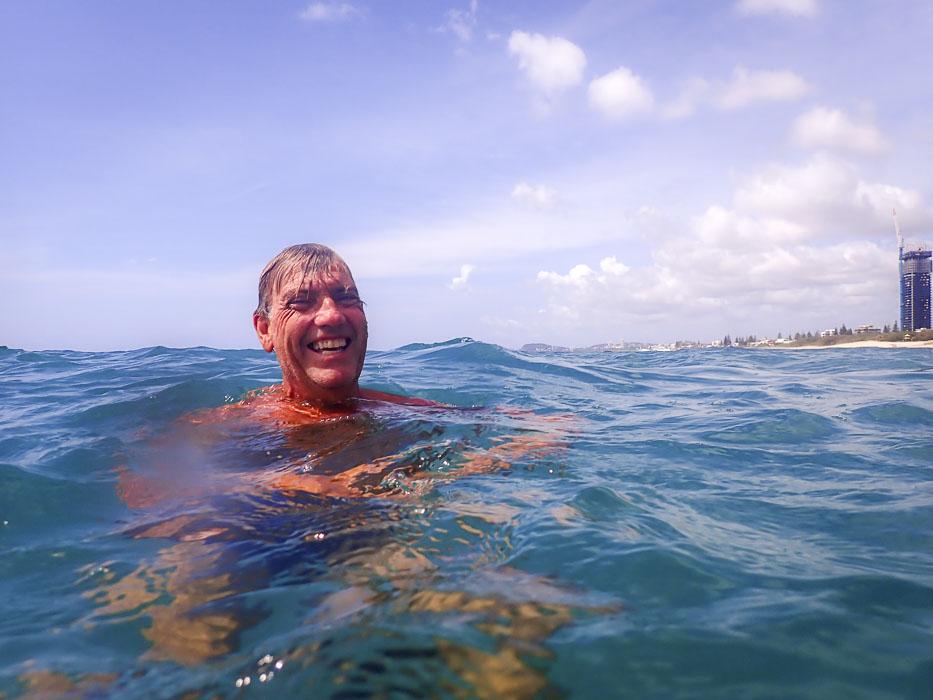 stephen cornelius of Gold Coast open water swimming club