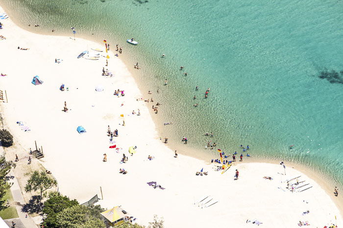 tullebudgera Creek swimming at gold coast